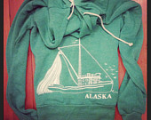 Alaska Boat Zip up