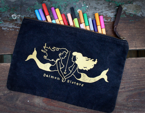 Salmon Sisters Wallet