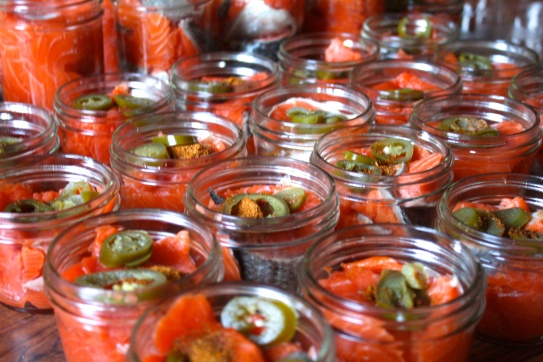 King Salmon Jar Snack Pack