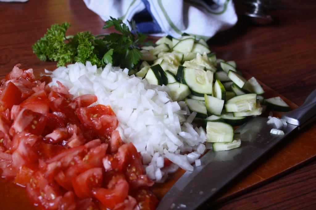 Tabbouleh Veggies