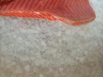 Salting Salmon