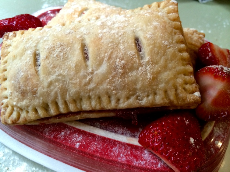 Strawberry Jam Toaster Pastry