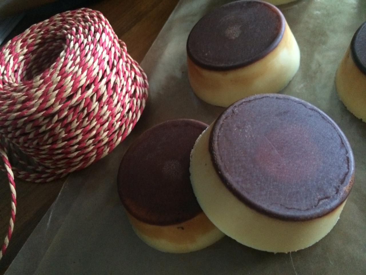 Coconut oil and beeswax lotion bars