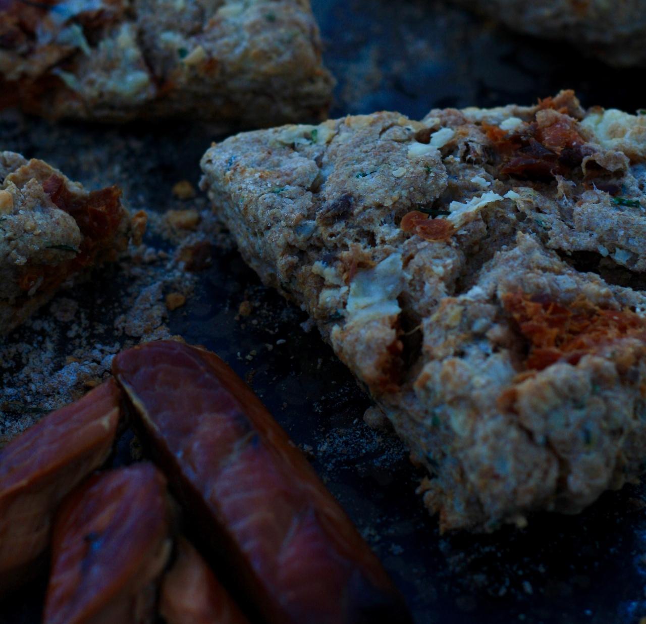 Smoked Salmon Scone