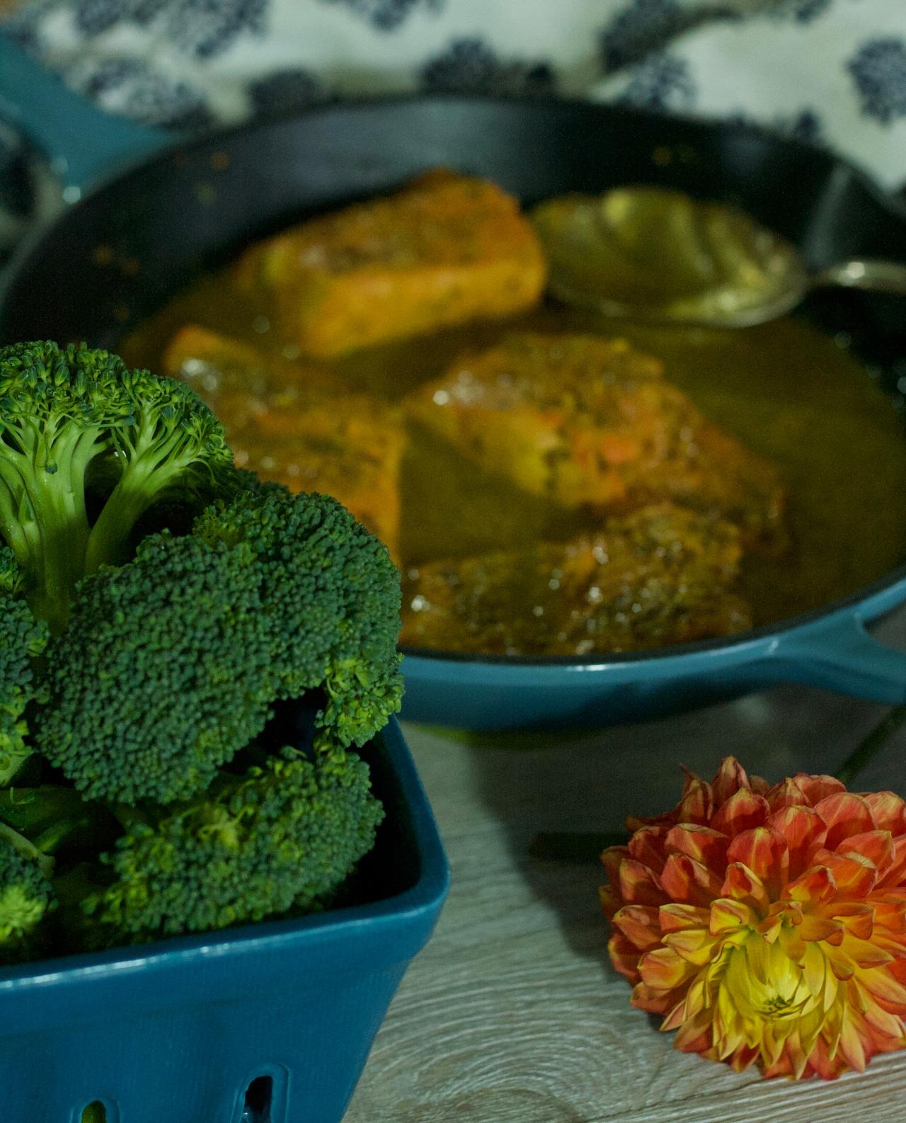 Sockeye Salmon in Bengali Mustard Sauce